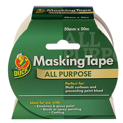Image for Duck All Purpose Masking Tape - 50mm x 50m from StoreName
