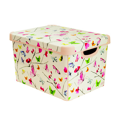 Image for Curver Butterfly Deco Storage Box from StoreName