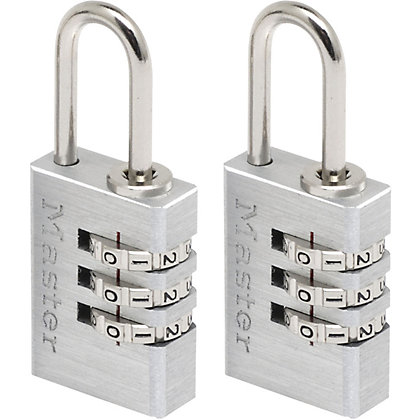 Image for Master Lock Combination Padlocks - 2 x 20mm from StoreName