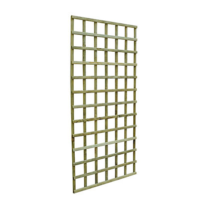 Image for Forest Premium Wooden Trellis - 6x3ft from StoreName