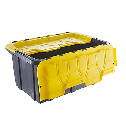 Image for 57L Heavy Duty Flip Lid Storage Box from StoreName