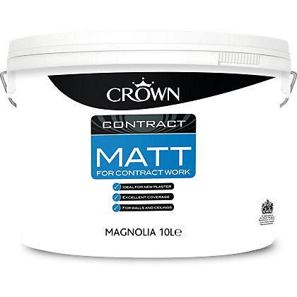 Image for Crown Magnolia Matt Contract Paint - 10L from StoreName