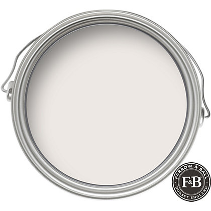 Image for Farrow & Ball Estate No.2001 Strong White - Matt Emulsion Paint - 2.5L from StoreName