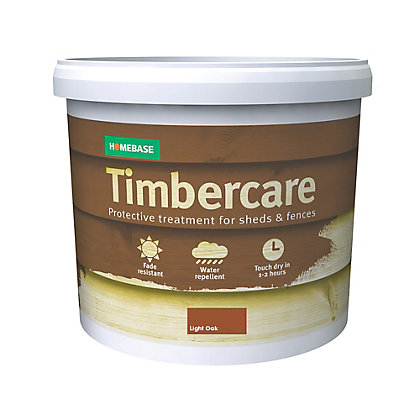 Image for Homebase Timbercare Light Oak - 5L from StoreName