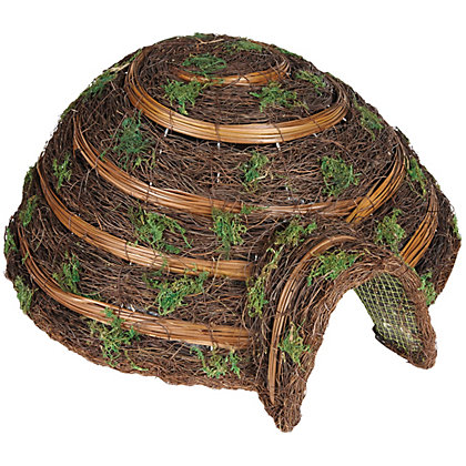 Image for Gardman Woven Hedgehog House from StoreName