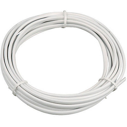 Image for 2 Core Flat Flexible Cable 0.5 sq mm 2192Y White 5m from StoreName