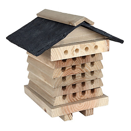 Image for Gardman Wooden Bee Hive from StoreName