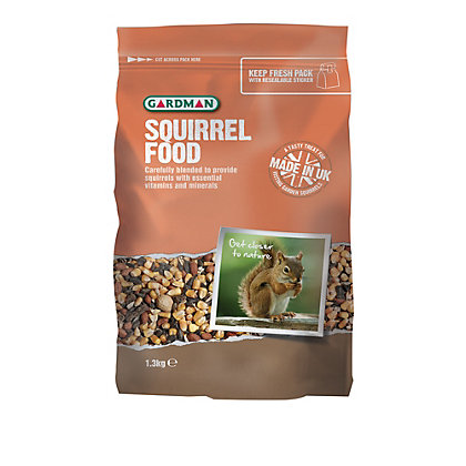 Image for Gardman Squirrel Food - 1.3kg from StoreName