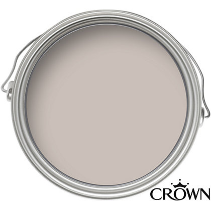Image for Crown Fashion For Walls Mink - Indulgence Matt Emulsion Paint - 125ml Tester from StoreName