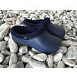 Town & Country Navy Furry Cloggie Garden Footwear - Medium