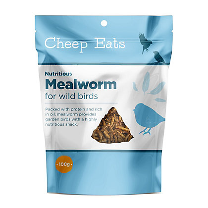 Image for Cheep Eats Mealworms - 100g from StoreName
