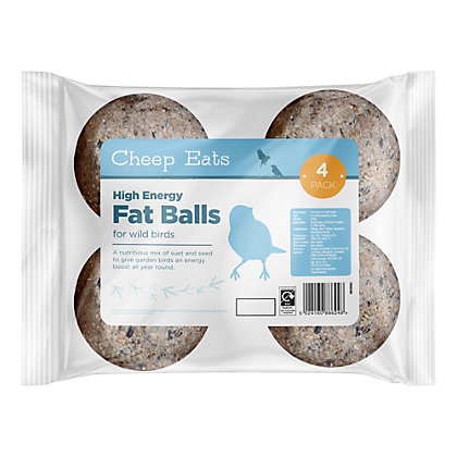 Image for Cheep Eats Fat Balls - 4 x 80g from StoreName