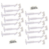 Dreambaby Wide-Grip Safety Catches - 14 Pack