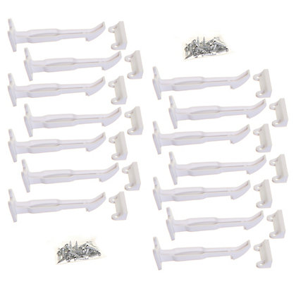 Image for Dreambaby Wide-Grip Safety Catches (14 pack) from StoreName