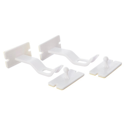 Image for Dreambaby Adhesive Cupboard Double-Locks (2 pack) from StoreName