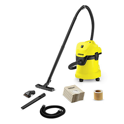 Image for Karcher WD3 Tough Vac Wet & Dry Vacuum Cleaner from StoreName