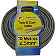 Twin and Earth Cable 2.5 sq mm 6242YH Grey 10m