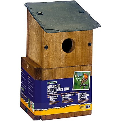 Image for Gardman Orchard Multi Nest Box from StoreName