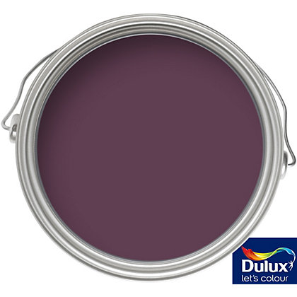 Image for Dulux Feature Wall Mulberry Burst - Matt Emulsion Paint - 50ml Tester from StoreName