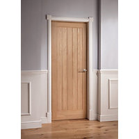 Mexicano Oak Veneer Door - 1981 x 762mm
