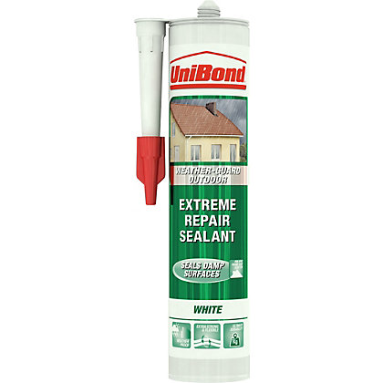 Image for UniBond Outdoor Extreme Repair Sealant - White - 300ml from StoreName