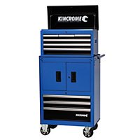 Kincrome Chest & Trolley Combo 9 Drawer - Blue