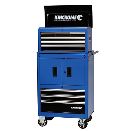 Image for Kincrome Chest & Trolley Combo 9 Drawer - Blue from StoreName