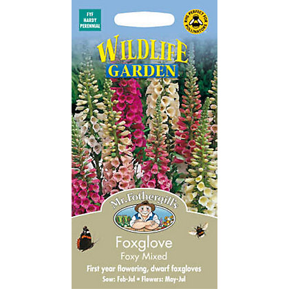 Image for Foxglove Foxy Mixed (Digitalis Purpurea) Seeds from StoreName