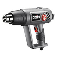 Ozito 2000W 2 Speed Heat Gun Kit HGN-2100U