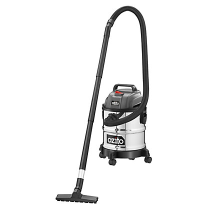 Image for Ozito 1250W 20L Wet Dry Vacuum from StoreName