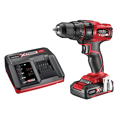 Image for Ozito Power X Change 18V Drill Driver & 2Ah Battery Kit PXDDK-200U from StoreName