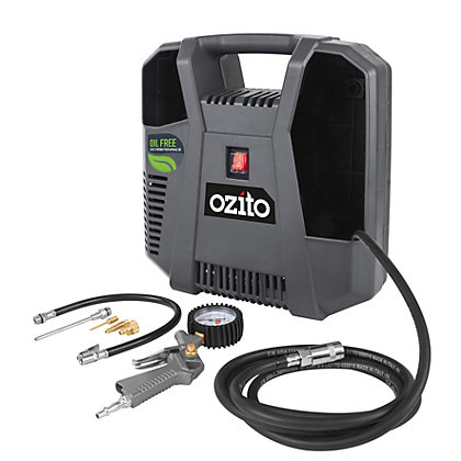 Image for Ozito 1100W 140L/MIN Inflator Compressor TH_AC 190U from StoreName
