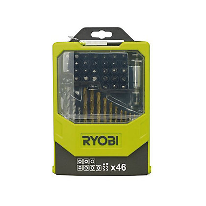 Image for Ryobi RAK46DD 46 Piece Drill & Driving Set from StoreName