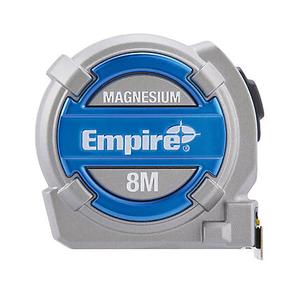 Image for Empire EM08MMT Magnesium Tape Measure - 8m from StoreName