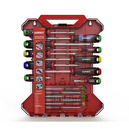 Image for Hart HSD16MIX 16 Piece Mixed Screwdriver Set from StoreName