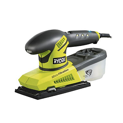 Image for Ryobi AC 280W Variable Speed 1/3 Sheet Sander from StoreName