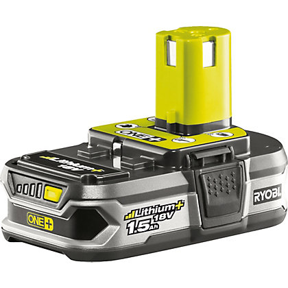 Image for Ryobi RB18L15 18V ONE+ 1.5ah Li+ Battery from StoreName