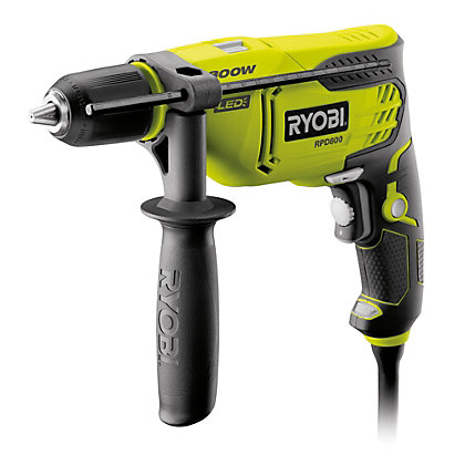 Image for Ryobi 800W Percussion Drill from StoreName