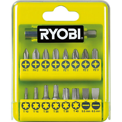 Image for Ryobi RAK17SD 17 Piece Drill & Driving Set from StoreName