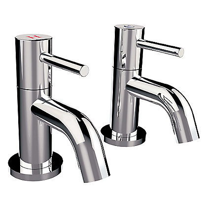 Image for Mondella New Swan Neck Basin Taps  - Chrome from StoreName