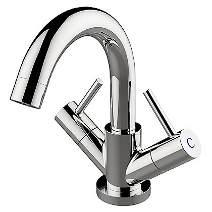 Image for New Swan Neck Mono Basin Mixer from StoreName