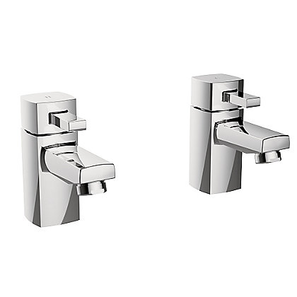 Image for Mondella New Cube Bath Taps from StoreName