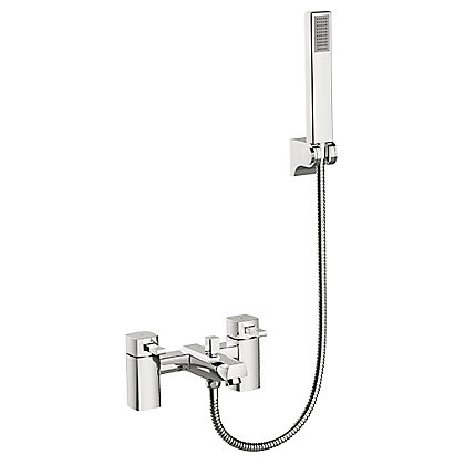Image for New Cube Bath Shower Mixer from StoreName