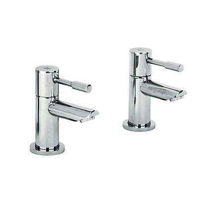 Image for Evoke Bath Taps - Chrome - 2 Pack from StoreName