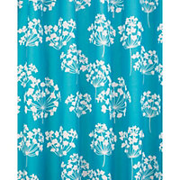 Flora Shower Curtain - Blue and White