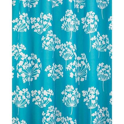 Image for Flora Shower Curtain - Blue and White from StoreName