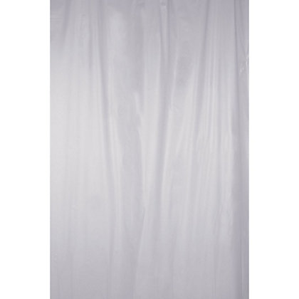 Image for PVC Shower Curtain - Clear Frosty from StoreName