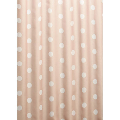 Image for Estilo Polka Dot Shower Curtain - Neutral from StoreName