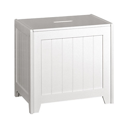 Image for Laundry Bin - White from StoreName