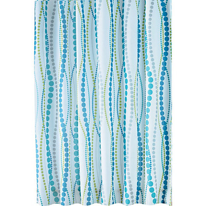 Image for Estilo Dotty Shower Curtain - Multicoloured from StoreName